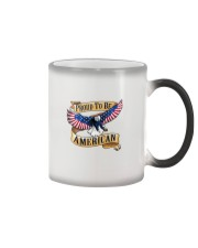Proud to be AMERICAN Color Changing Mug thumbnail