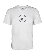mooning V-Neck T-Shirt thumbnail