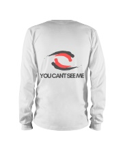 You Can't See Me Long Sleeve Tee back