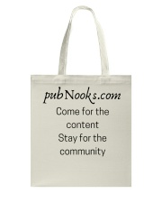 pubNooks is coming Tote Bag thumbnail