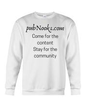 pubNooks is coming Crewneck Sweatshirt thumbnail