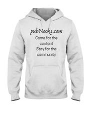 pubNooks is coming Hooded Sweatshirt thumbnail