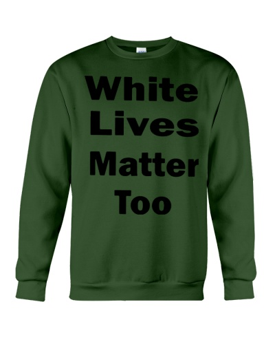 white lives matter t shirt