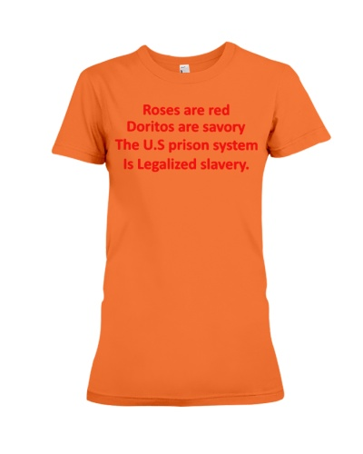 the us prison system is legalized slavery shirt bl