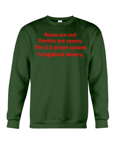 the us prison system is legalized slavery shirt