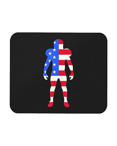 Funny Football American Flag USA Patriot Day