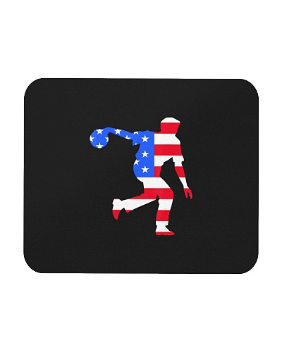 Funny Bowling American Flag USA Patriot Day