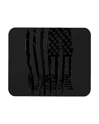Distressed Black USA Flag - Patriot Day T-Shirt