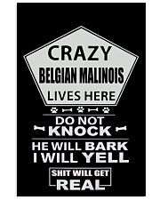 BELGIAN MALINOIS 11x17 Poster front