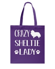 SHELTIE Tote Bag tile