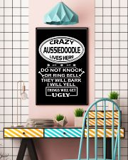 AUSSIEDOODLE 11x17 Poster lifestyle-poster-6