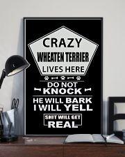 WHEATEN TERRIER 11x17 Poster lifestyle-poster-2