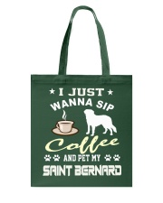 Saint Bernard Tote Bag tile