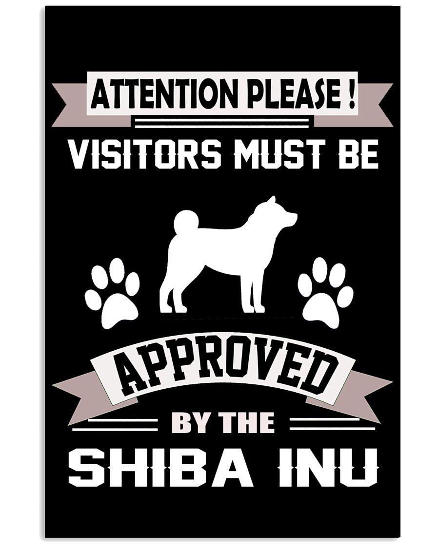 SHIBA INU 11x17 Poster