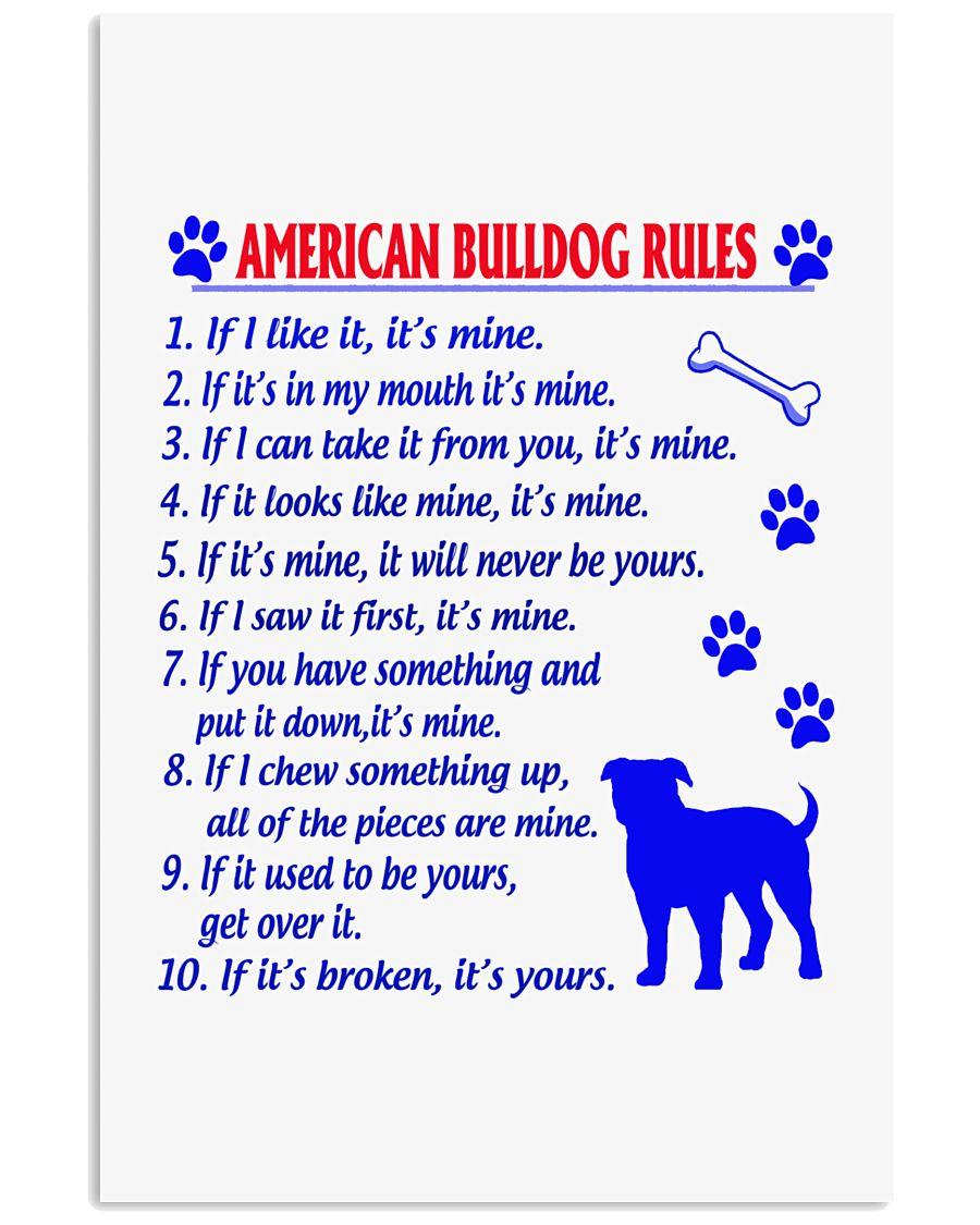AMERICAN BULLDOG 11x17 Poster