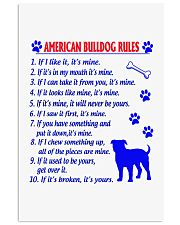 AMERICAN BULLDOG 11x17 Poster front