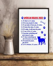 AMERICAN BULLDOG 11x17 Poster lifestyle-poster-3