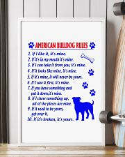 AMERICAN BULLDOG 11x17 Poster lifestyle-poster-4