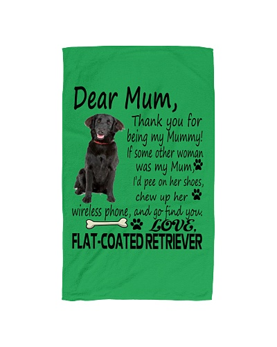 flat coated retriever | TeeChip
