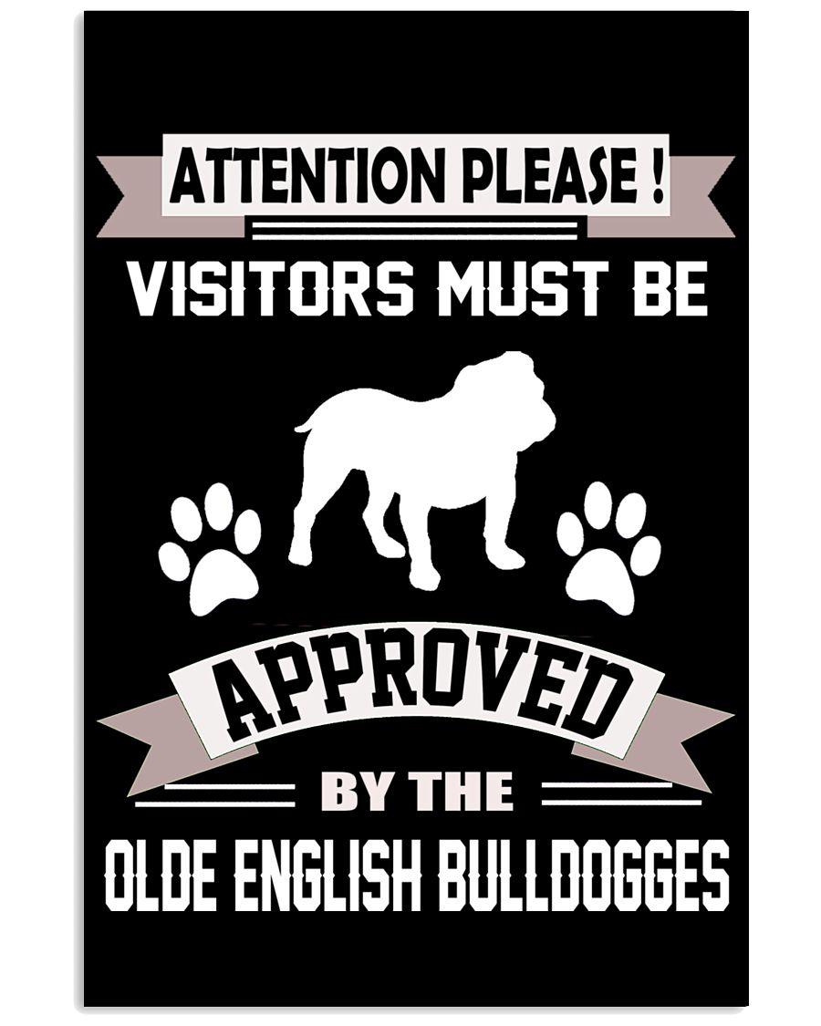 OLDE ENGLISH BULLDOGGES 11x17 Poster