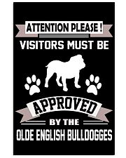 OLDE ENGLISH BULLDOGGES 11x17 Poster front