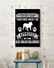 OLDE ENGLISH BULLDOGGES 11x17 Poster lifestyle-holiday-poster-3
