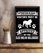 OLDE ENGLISH BULLDOGGES 11x17 Poster lifestyle-poster-3