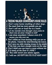TREEING WALKER COONHOUND 11x17 Poster front