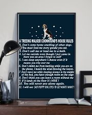TREEING WALKER COONHOUND 11x17 Poster lifestyle-poster-2