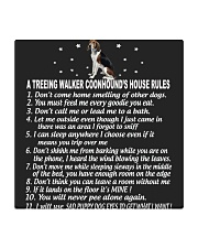 TREEING WALKER COONHOUND Square Coaster thumbnail