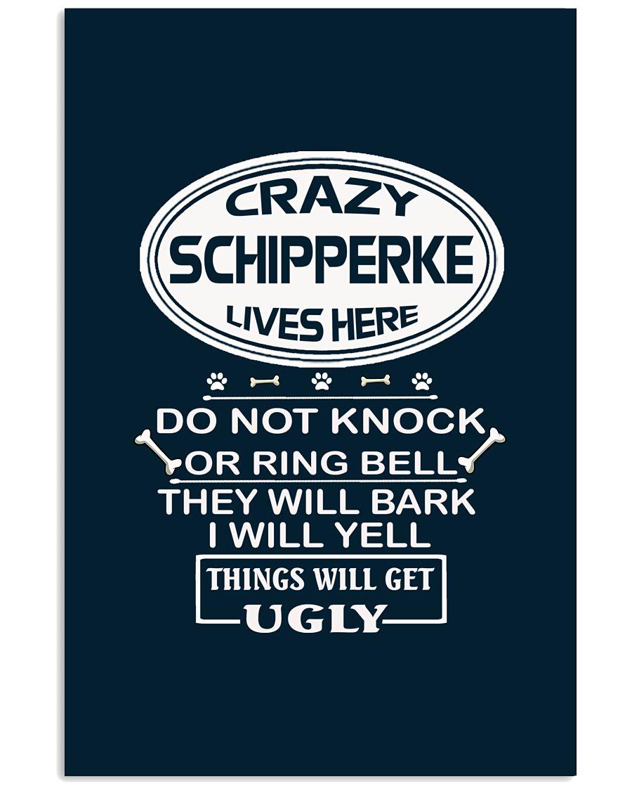 SCHIPPERKE 11x17 Poster