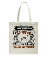 Italian Greyhound Tote Bag thumbnail