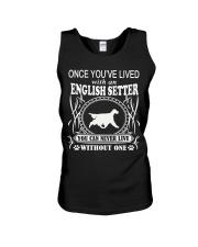 ONCE YOU'VE LIVED English Setter Unisex Tank thumbnail