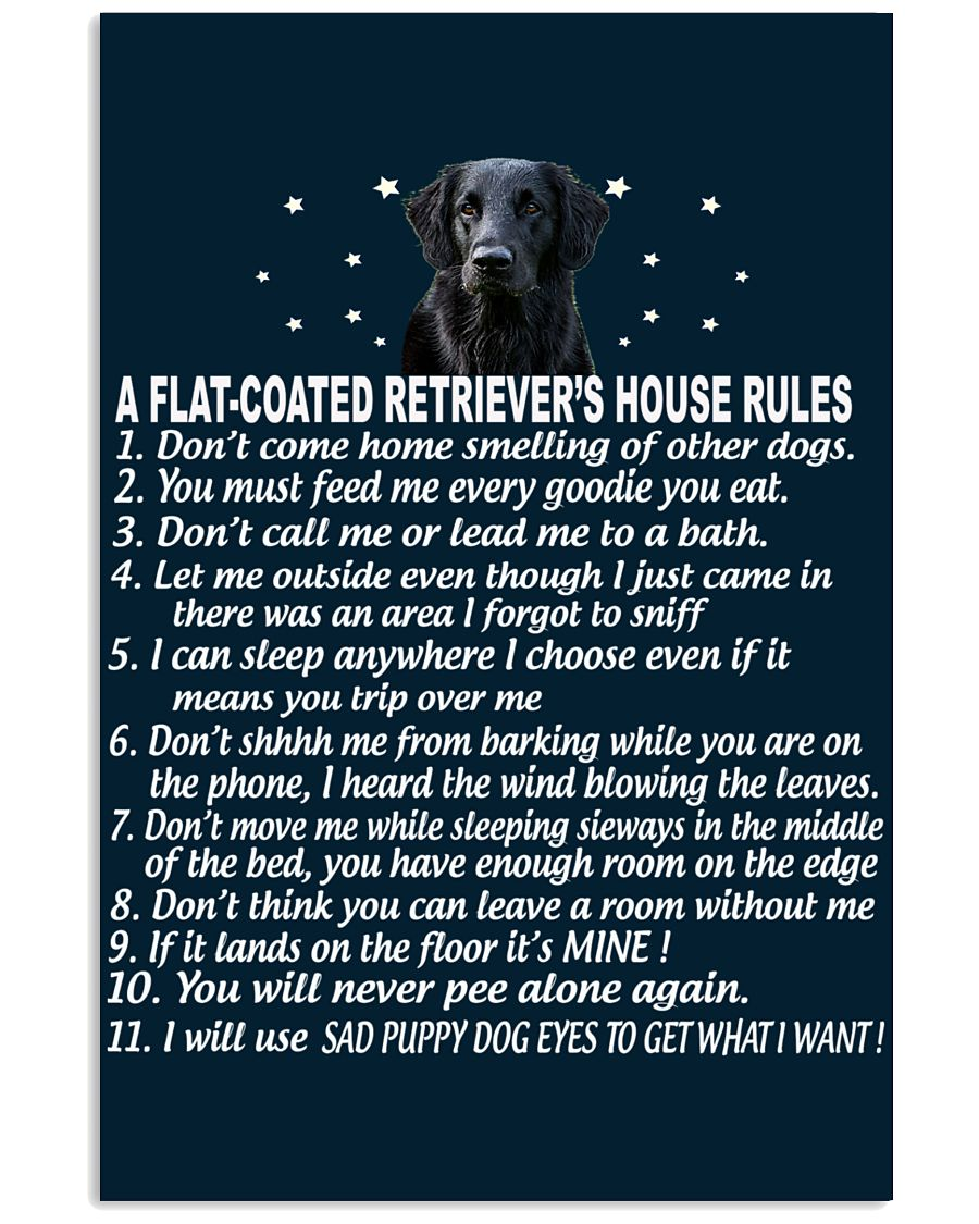 FLAT-COATED RETRIEVER 11x17 Poster