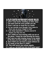 FLAT-COATED RETRIEVER Square Coaster thumbnail