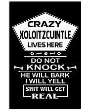 XOLOITZCUINTLE 11x17 Poster front