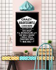 XOLOITZCUINTLE 11x17 Poster lifestyle-poster-6