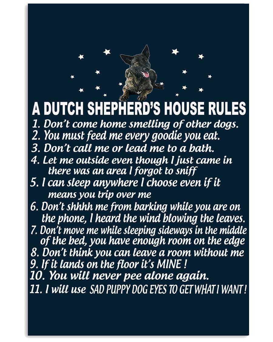 DUTCH SHEPHERD 11x17 Poster