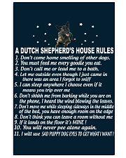 DUTCH SHEPHERD 11x17 Poster front
