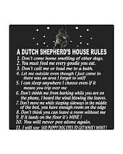 DUTCH SHEPHERD Square Coaster thumbnail