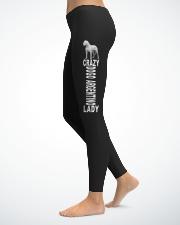 Dogo Argentino Ladies Leggings lifestyle-leggings-left-1