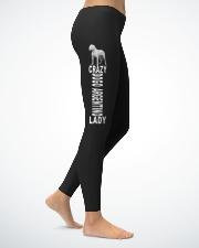 Dogo Argentino Ladies Leggings lifestyle-leggings-right-1