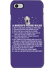 BORZOI Phone Case tile