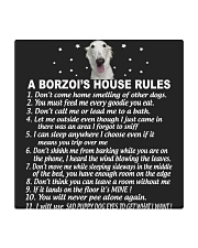 BORZOI Square Coaster tile