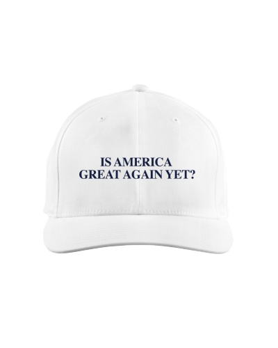 Is America Great Again Yet Questionmark