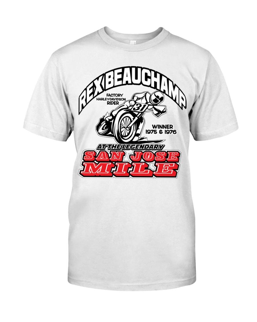 REX BEAUCHAMP SAN JOSE WINNER 75-76 Classic T-Shirt