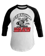 REX BEAUCHAMP SAN JOSE WINNER 75-76 Baseball Tee thumbnail