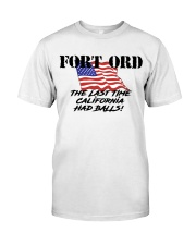 FORT ORD HAD BALLS Classic T-Shirt tile