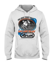 ASCOT IM NOT OLD BUT I GOT TO SEE IT Hooded Sweatshirt thumbnail