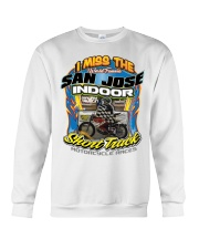 I MISS SAN JOSE INDOOR FRONT MAURY AUSTIN Crewneck Sweatshirt thumbnail